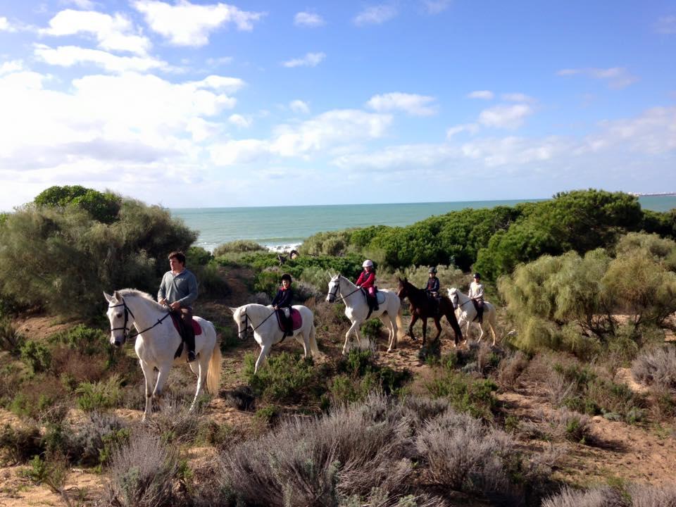 A Campo Abierto con aperitivo + Paseo a Caballo con vistas al mar