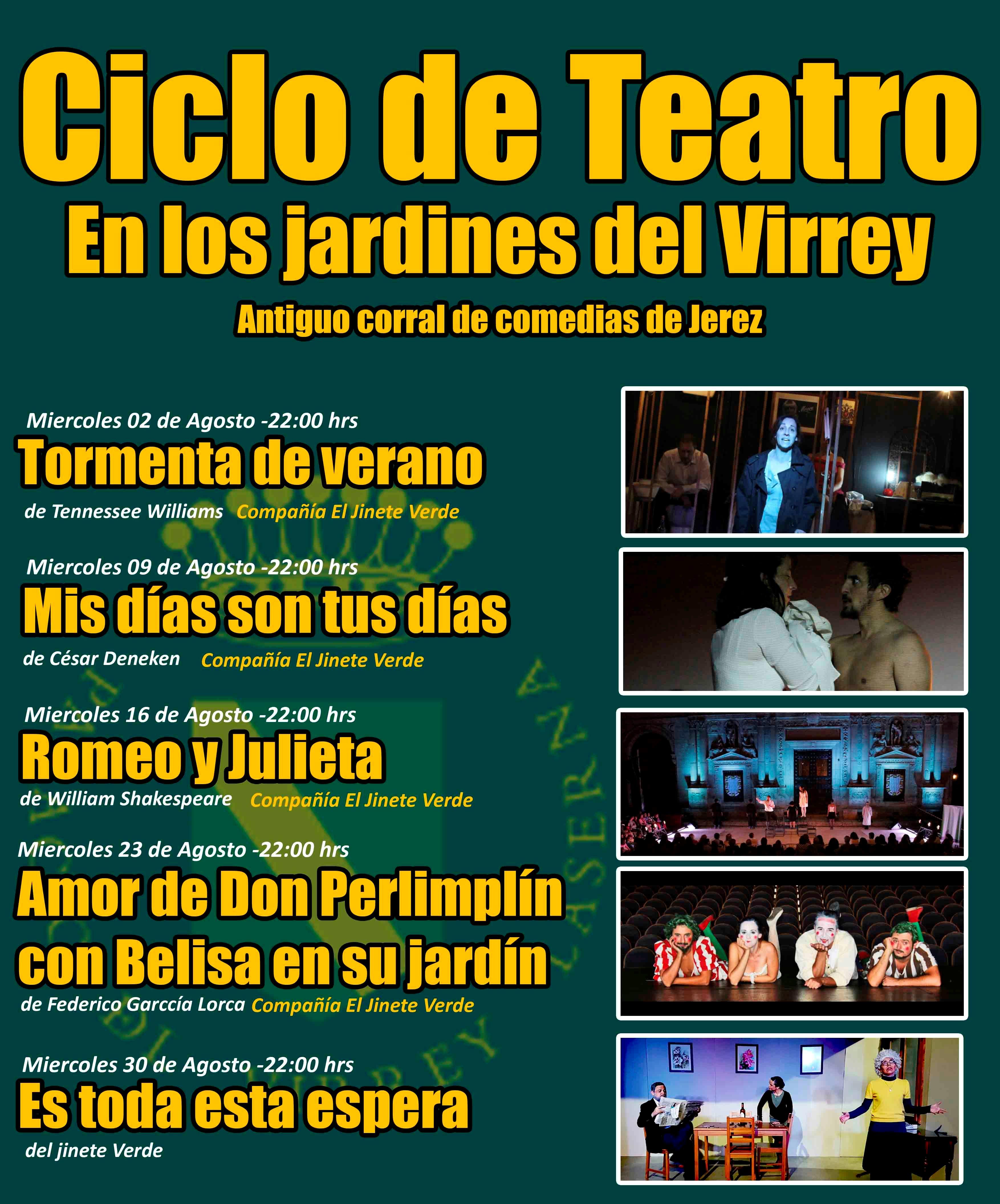 Teatro en la dehesa + Teatro en los Jardines de Palacio